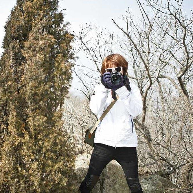 cô-gái-chụp-hình-ở-seonjaryeong