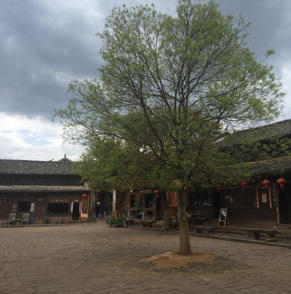 Quảng trường chợ Shaxi |  © Jessica Larson
